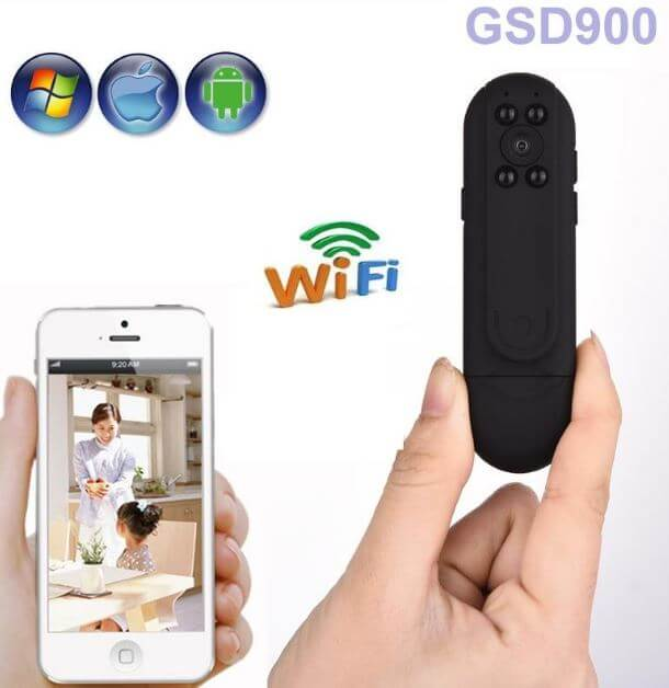 Camera IP Wifi siêu nhỏ full HD GSD900 TPHCM