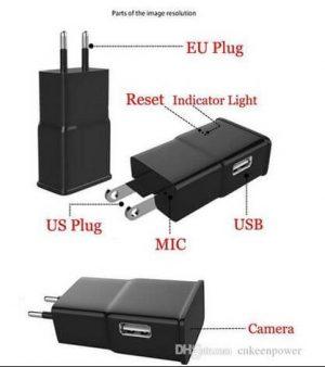 Camera IP siêu nhỏ ngụy trang cốc sạc Samsung chất lượng