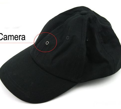 Camera siêu nhỏ ngụy trang Mũ Lưỡi Trai