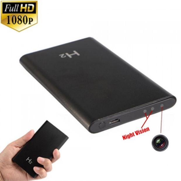 Camera siêu nhỏ ngụy trang pin sạc dự phòng H2 FUll HD