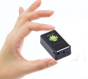 Máy nghe lén siêu nhỏ GF08 Camera- Định vị - Ghi âm