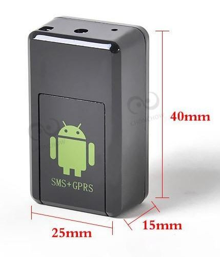 Máy nghe lén siêu nhỏ GF08 Camera - Định Vị - Ghi Âm HCM