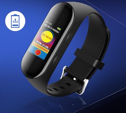 Đồng hồ ghi âm S10 dễ sử dụng